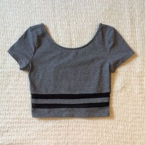💜 H&M Divided Crop Top